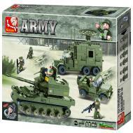Sluban Low Priced Lego Toys Substitute Elite Armored Division M38-B0308