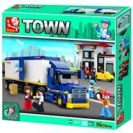 Sluban Heavy Duty Van Truck M38-B0318 Affordable Lego Blocks Alternate