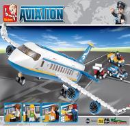 Sluban Lego Popular Alternate Passenger Airplane M38-B0366