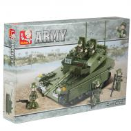Sluban Low Priced Option Lego Blocks Tank Toy M38-B0305