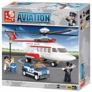 Sluban Helicopter M38-B0363 Lego Block Toys Compatible Game