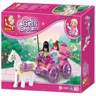SlubanThe Princess' Carriage M38-B0239 Best Lego Toys Alternative