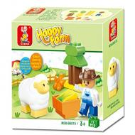 Sluban Happy Farm Learning Lego Toy M38-B6015