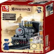 Sluban Lego Toys Better Priced Option Railway Station M38-B0231