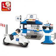 Sluban Lego Toys Alternative City Police Station M38-B0272