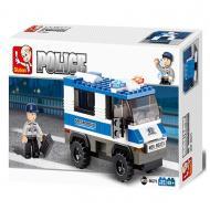 Sluban Police Van Compatible Lego Toy M38-B0273 Building Blocks
