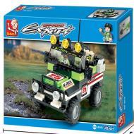Sluban Cross Country Car M38-B0135 Preferred Lego Toy Alternate