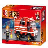 Sluban Affordable Lego Blocks Alternate Fire Truck M38-B0276