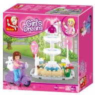 Sluban Compatible Lego Toys Alternate Fountain M38-B0519