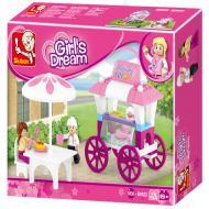 Sluban Food Carriage M38-B0522 Alternate Lego Substitute