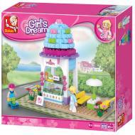 Lego Building Blocks Substitute Ice Cream Shop M38-B0525