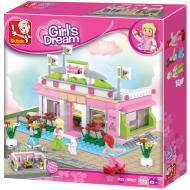 Lego Toys Affordable Alternative Snooker Club M38-B0527 Sluban
