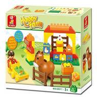 Sluban Lego Happy Farm Building Block Toy M38-B6017 …