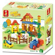 Sluban Lego Happy Farm Learning Toy M38-B6019