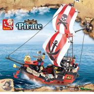 Sluban Lego Large Pirate Ship M38-B0127