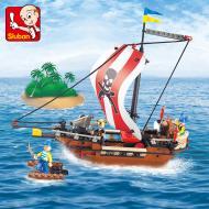 Sluban Building Block Set - Pirates Warriors