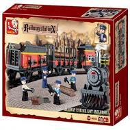 Sluban Lego Toys Affordable Substitute Cargo Bullet Train M38-B0232