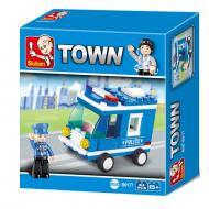 Sluban Best Replacement Lego Police Car M38-B0177