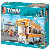Sluban Bus Affordable Lego Toys Alternate Set M38-B0332