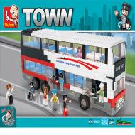 Sluban Bus Compatible Lego Blocks Set M38-B0335