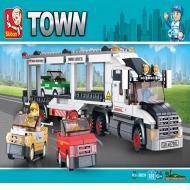 Sluban Lego Block Toys Alternate Track Transporter M38-B0339