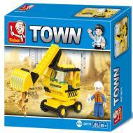 Sluban Lego Toys Substitute Excavator M38-B0176